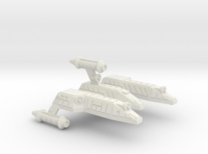 3125 Scale Lyran Serval War Cruiser Scout CVN 3d printed