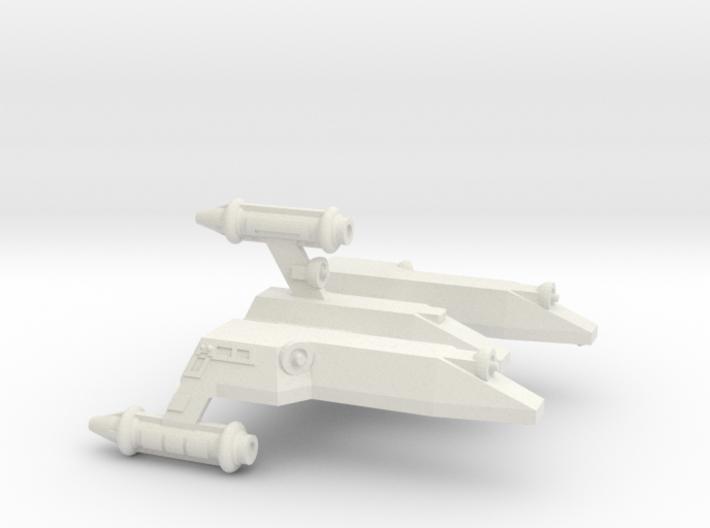 3125 Scale LDR War Cruiser Scout (CWS) CVN 3d printed