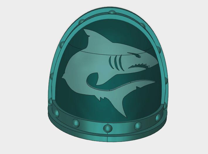 Mako Shark - G2 Right Shoulder Pads x10 3d printed