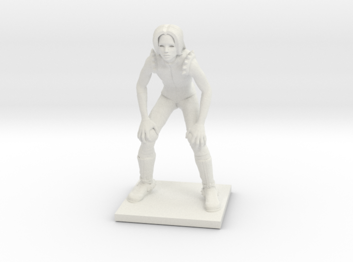 Darkelves 09 - Lineman 3d printed