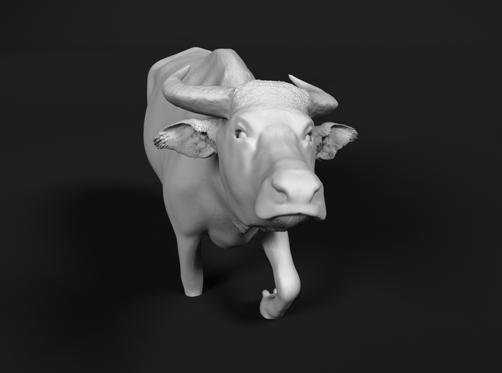 Domestic Asian Water Buffalo 1:76 Walks in Water 3d printed