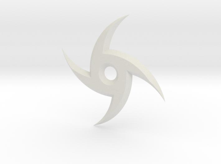 Spiral Ninja Star 3d printed