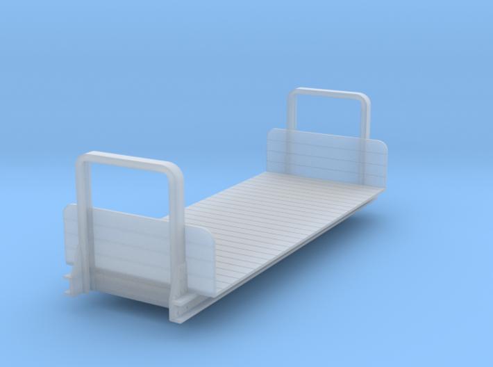 Ödeshög bogie flat - 0e version 3d printed
