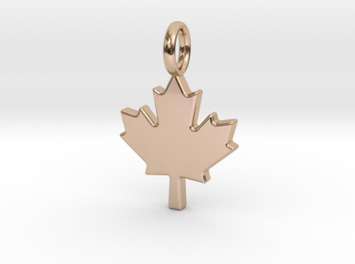The Maple Leaf - Pendant 3d printed