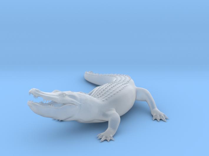 Printle Thing Alligator - 1/64 3d printed