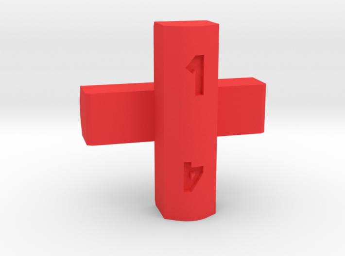 Cross d4 3d printed