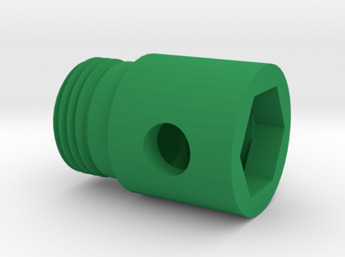 Shock_Cord_Anchor_Fitting 3d printed