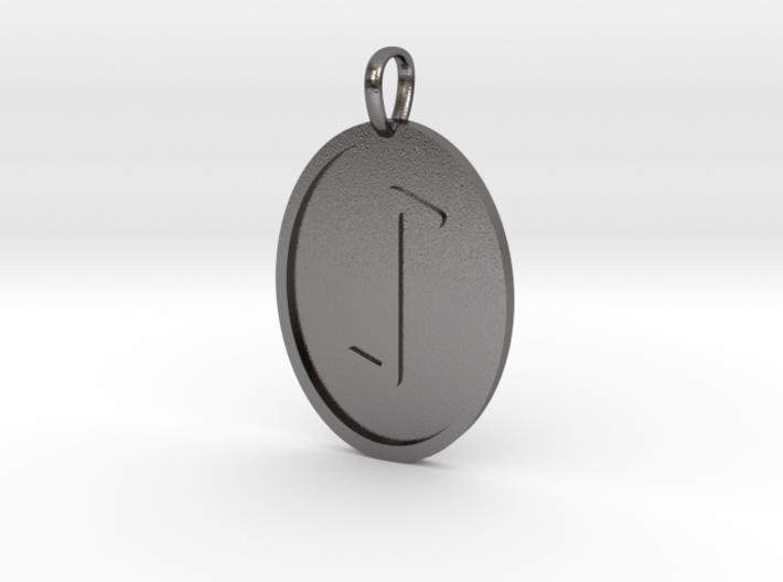 Eihwaz Rune (Elder Futhark) 3d printed