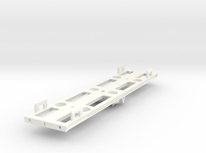 00 GWR Dia M17 Bullion Van Part 3 (Underframe) 3d printed