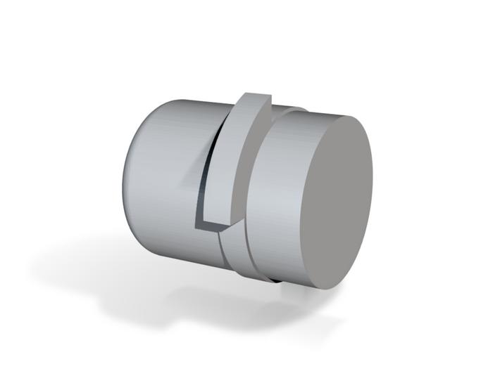 Pluto (version 2) Locking Button 3d printed
