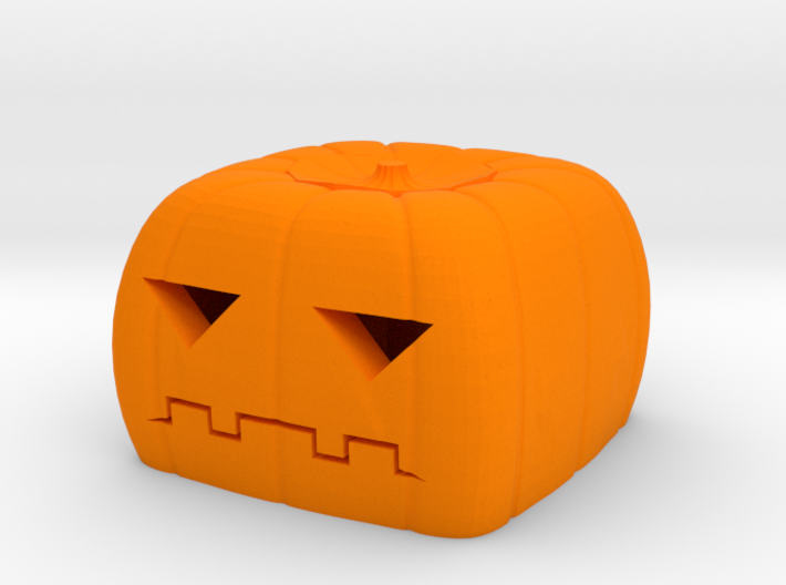 Halloween pumkin keycap 2 - cherry MX 3d printed