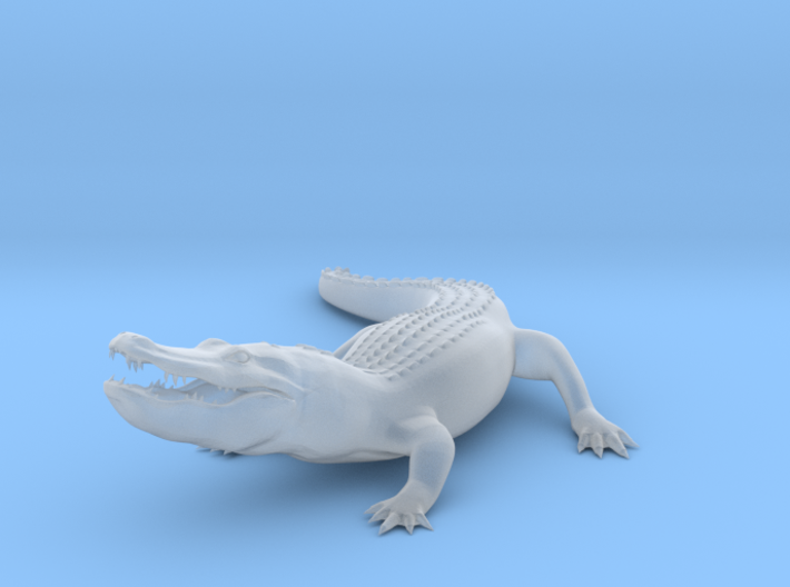 Printle C Alligator - 1/43.5 3d printed