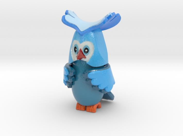 uv_owl-10cm 3d printed