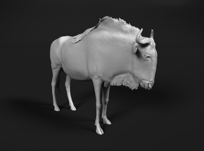 Blue Wildebeest 1:64 Standing Female 3d printed