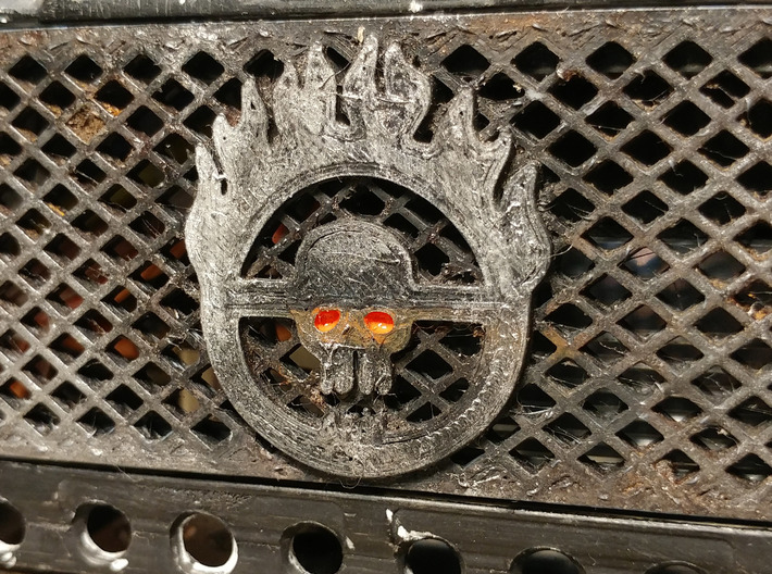 Mad Max RC4WD D90/D110 Grill 3d printed