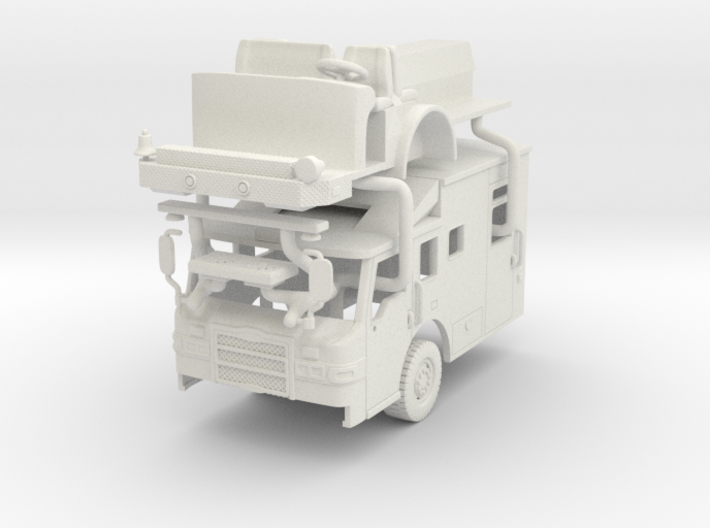 1/64 Pierce Velocity Medical Transport cab 3d printed