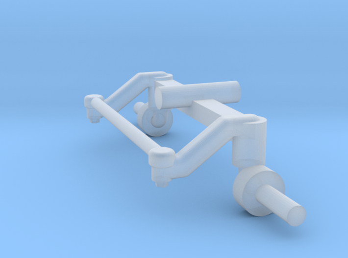 2wd axle 7720 3d printed