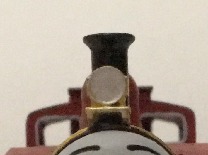 OO / HO Lamp for Bachmann Rosie 3d printed Painted Model Front On