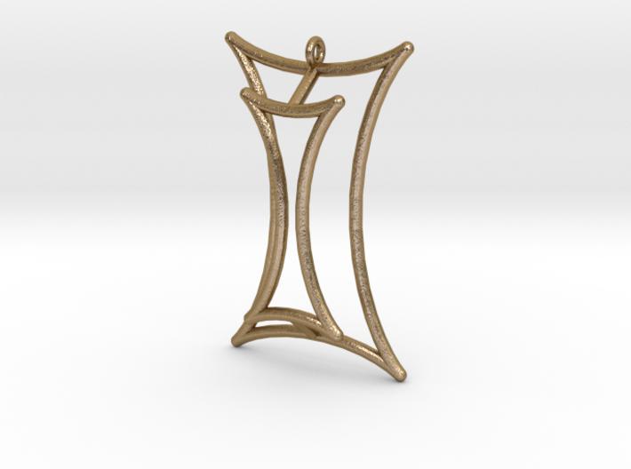 Talbot's Curve Pendant 3d printed