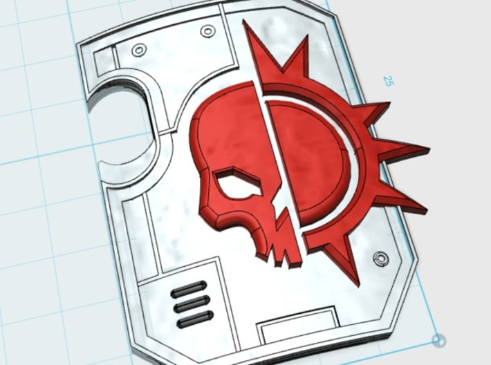 5x Dusk Raider: Terminator Thunder Shields 3d printed