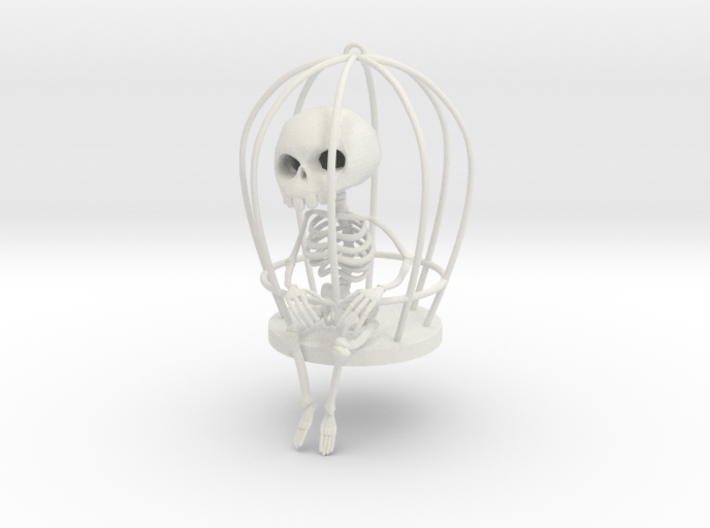 caged_large 3d printed
