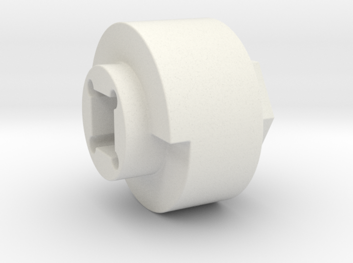 DX4 wheel adapter BS=20mm 3d printed