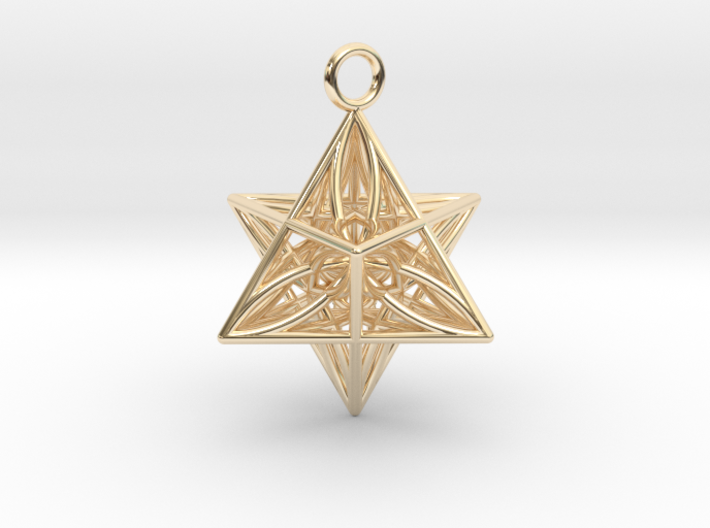 Pendant_Star of Life 3d printed