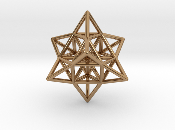 Pendant_Cuboctahedron_Star_without eyelet 3d printed