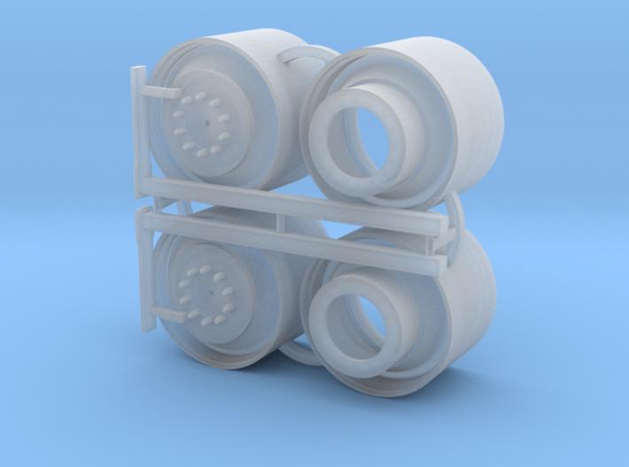"710R38"" COMBINE FRONT DUAL RIMS 3d printed"