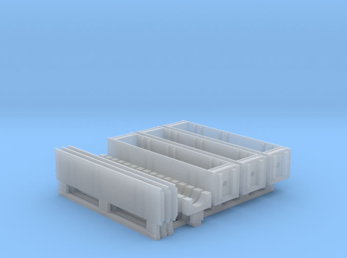 1/35 SPM-35-027-TOW-08 Wooden crates for TOW missi 3d printed