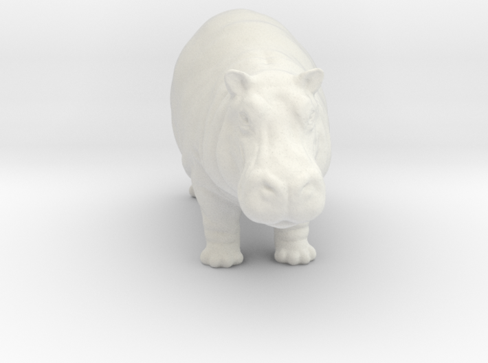 Printle Thing Hippo - 1/87 3d printed