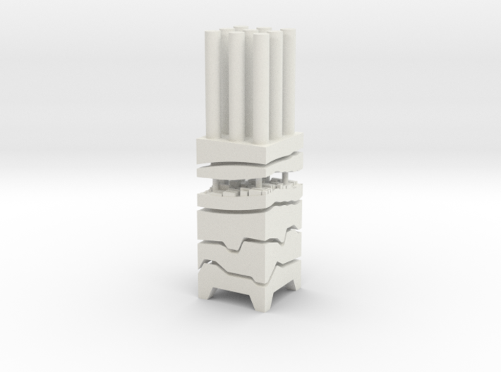 "BK-07: ""Bidirectional Core Sample"" AGENCY-AGENCY 3d printed"