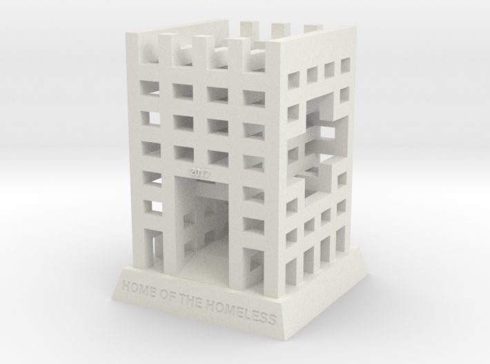 "BK-08: ""The HoTH: House of the Homeless..."" by ZUS 3d printed"