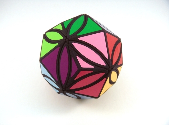 Ivy Kites Puzzle 3d printed Solved