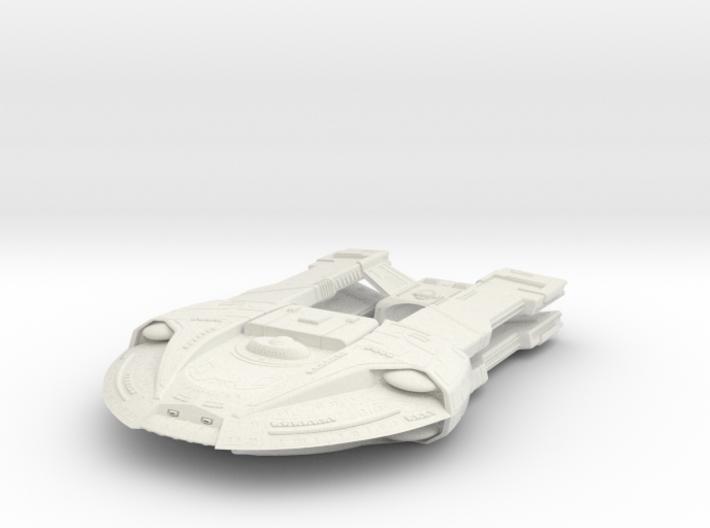 Steamrunner Class Refit B 3d printed