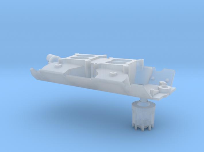 Brodix 1/25 BBC dual carb intake 3d printed