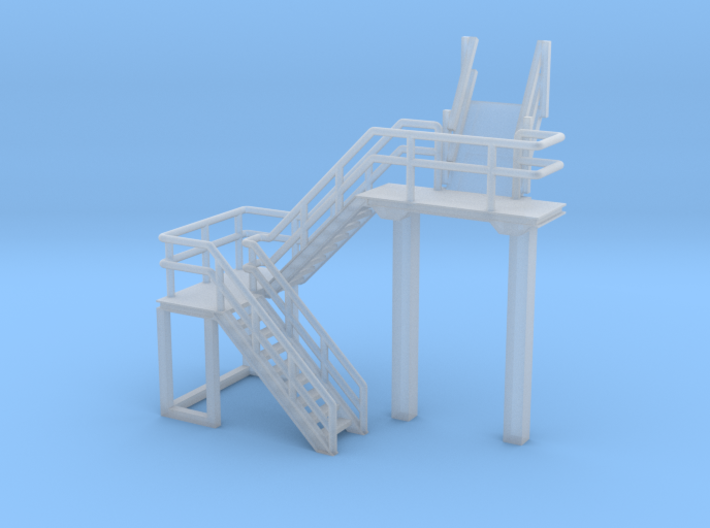 N Scale Train Inspection Platform 3d printed