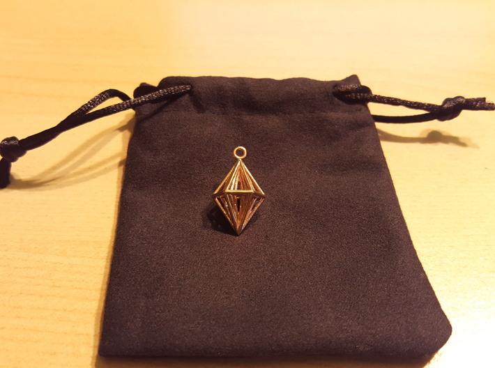 Pendant_Tripyramid 3d printed