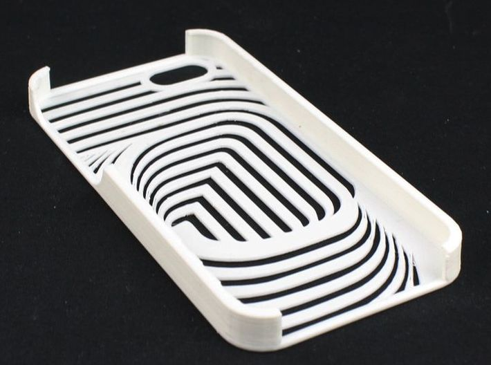 iPhone 5 CurvedLine Case 3d printed Picture by Mark Ledwold