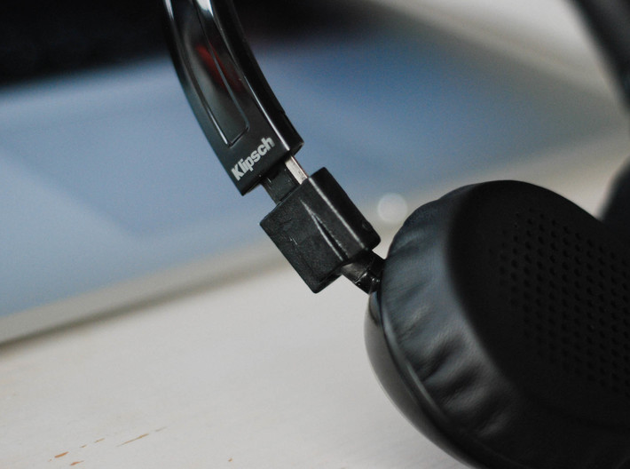 Klipsch Image One (II): Replacement Hinge 3d printed Hinge fits perfectly with overall design