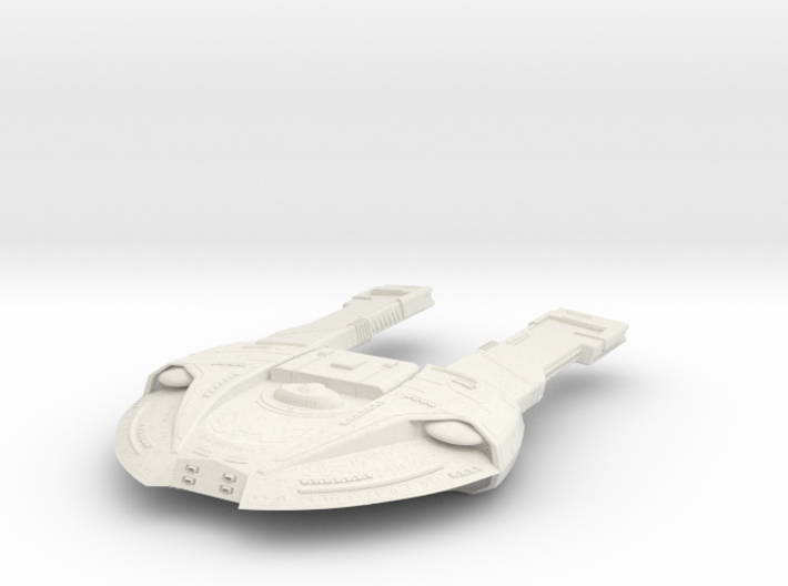 Steamrunner Class Refit C GunDestroyer 3d printed