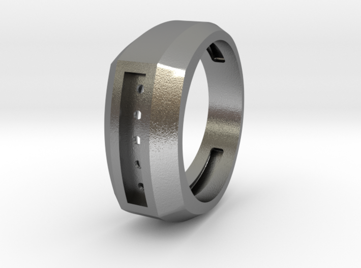 Men's ring 3d printed