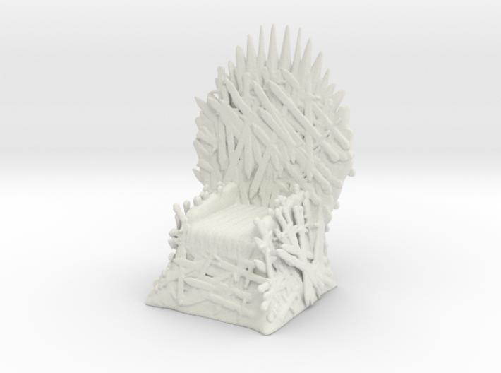 Printle Thing throne03 - 1/24 3d printed