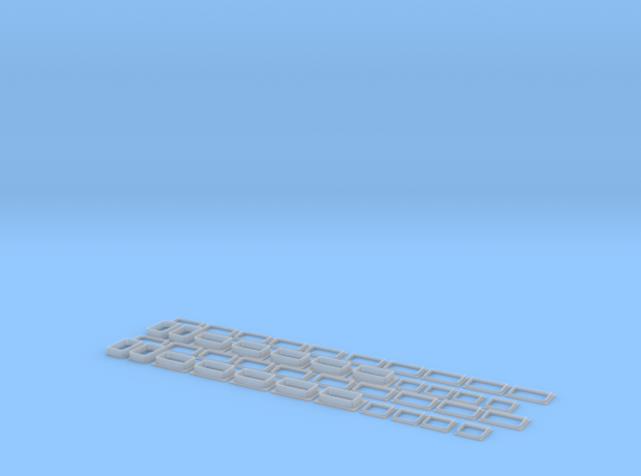 IC2000 Fenstersatz Scale TT 3d printed