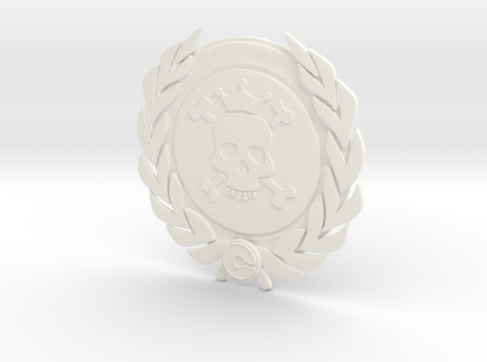 Competitive badge - Death Merchant 3d printed