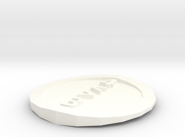 d4 coin 3d printed