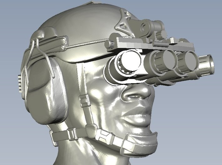 1/15 scale SOCOM NVG-18 night vision goggles x 5 3d printed