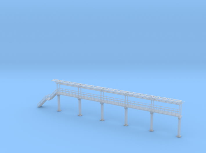 N Scale Tank Car loading Platform 5+stairs 3d printed