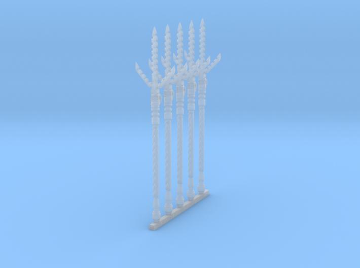 Spear 004b (x5) 3d printed