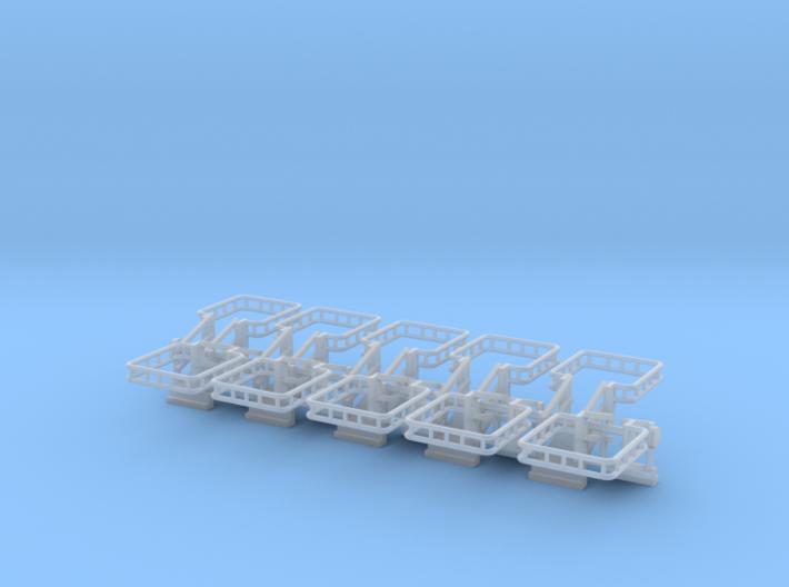 N Scale Tank Car Loading Bridge 10x Medium 3d printed